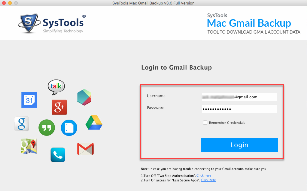 Google Mail Backup Tool